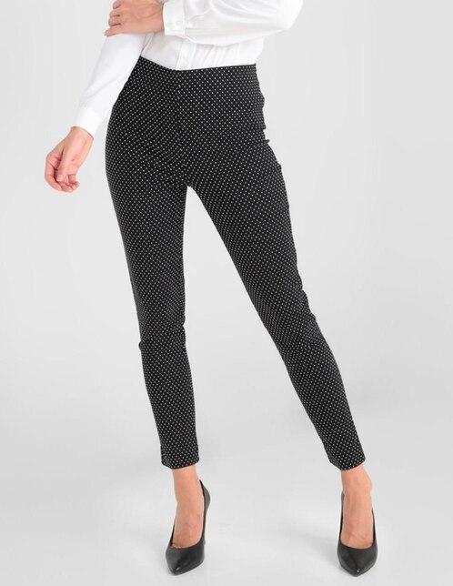 Pantalon Oh Pomp Corte Skinny Cintura Alta