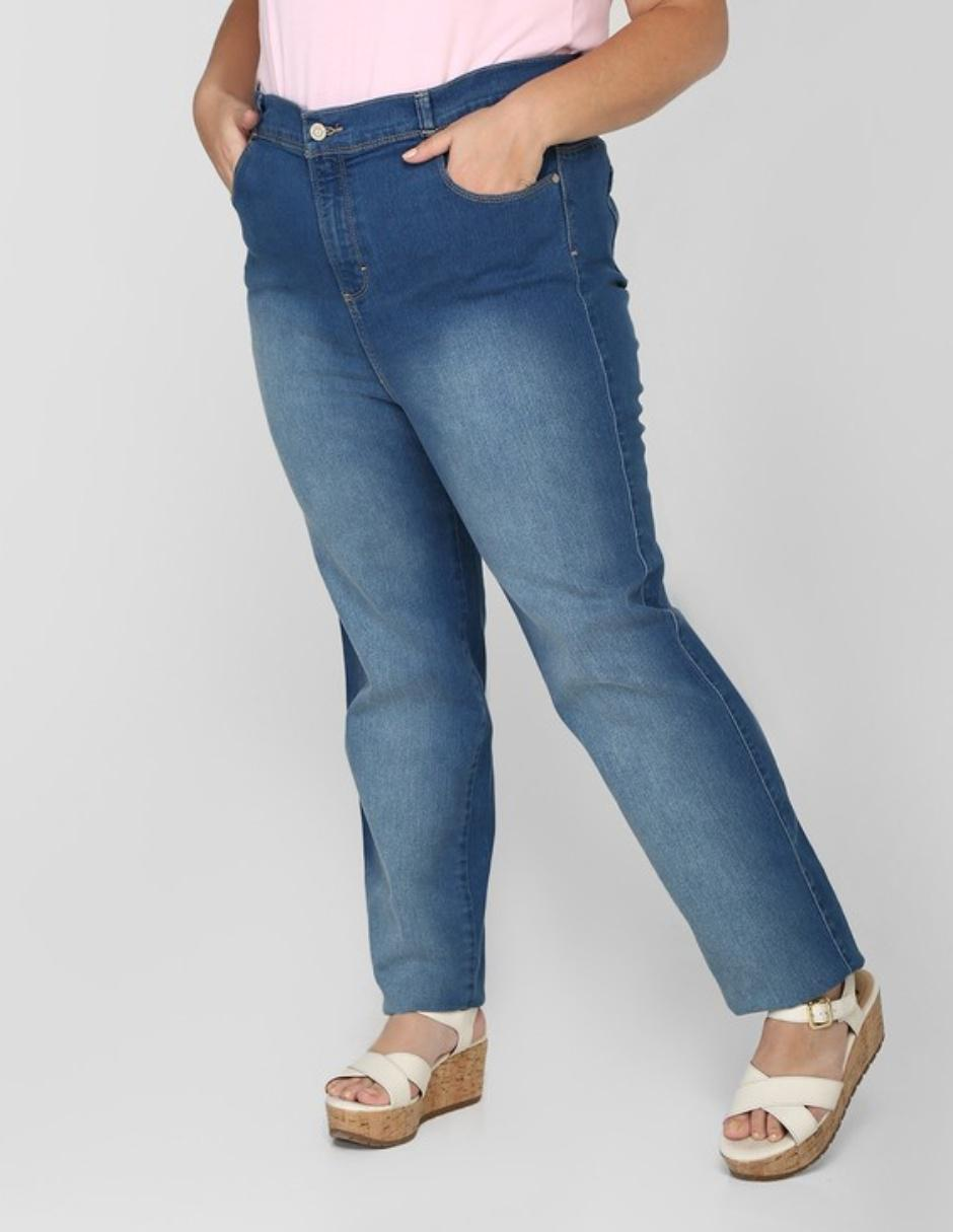 Jeans Oh Pomp Levanta Gluteos Dama Corte Skinny